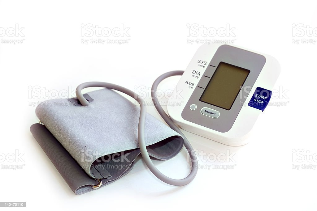Blood Pressure Check royalty-free stock photo
