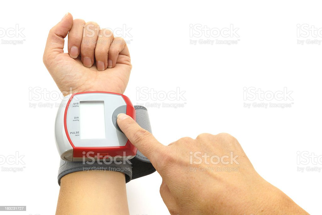 blood pressure control stock photo