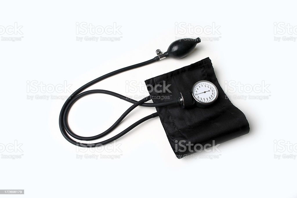 Blood Pressure Cuff royalty-free stock photo