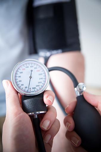 istock Blood Pressure Gauge 1200114154