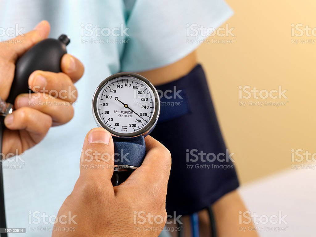 Blood Pressure Gauge stock photo