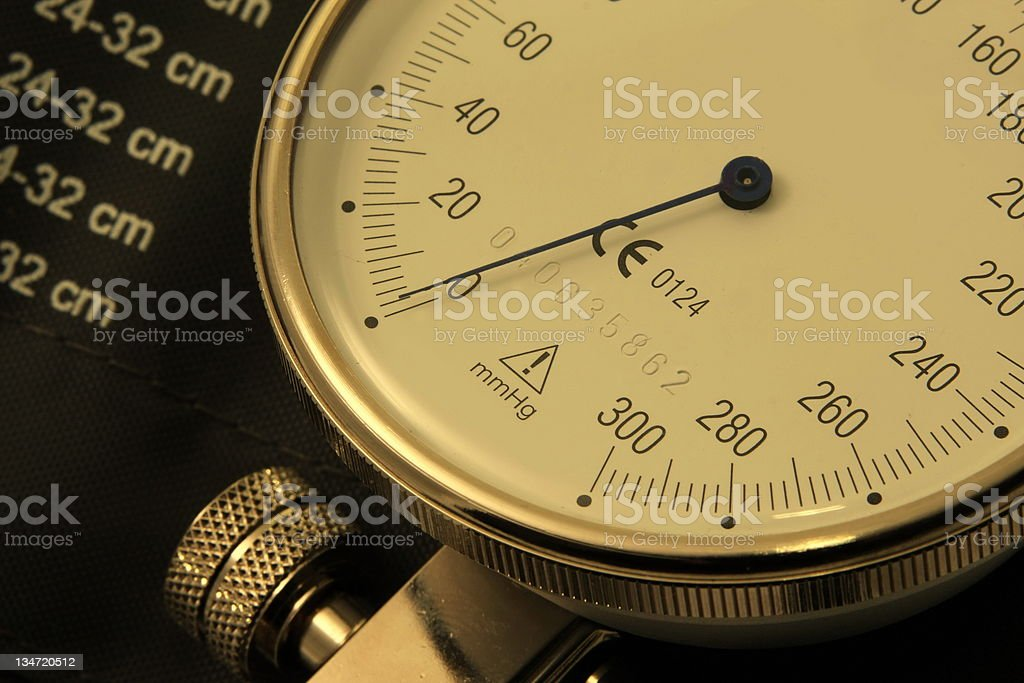 Blood pressure measurement device royalty-free stock photo