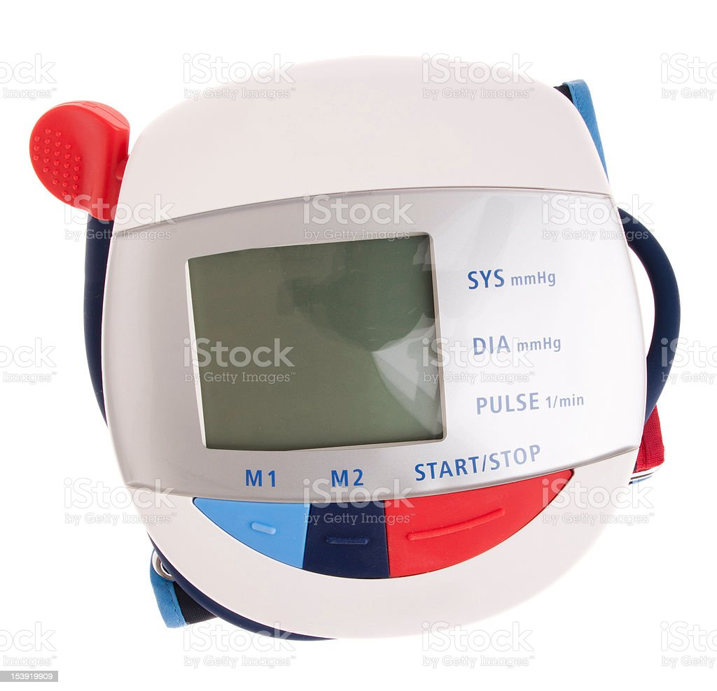Blood pressure meter royalty-free stock photo