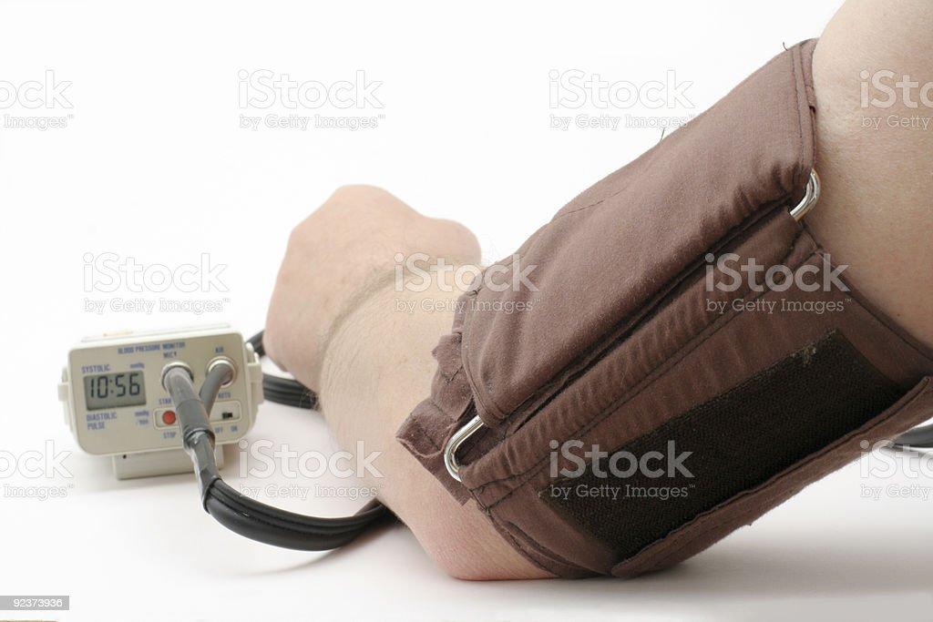 Blutdruck-Bündchen Lizenzfreies stock-foto