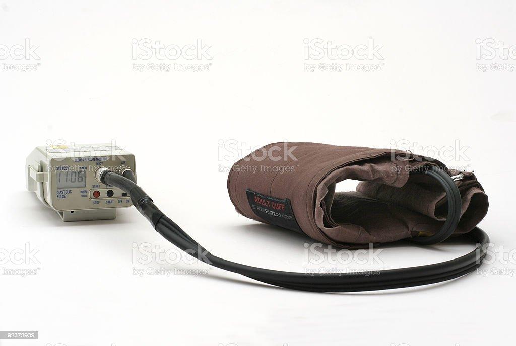 Blood Pressure Monitor equipment royalty-free stock photo
