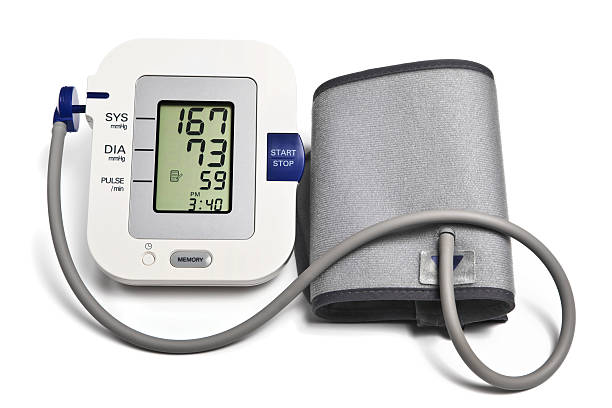 Blood Pressure Monitor for Home Use stock photo