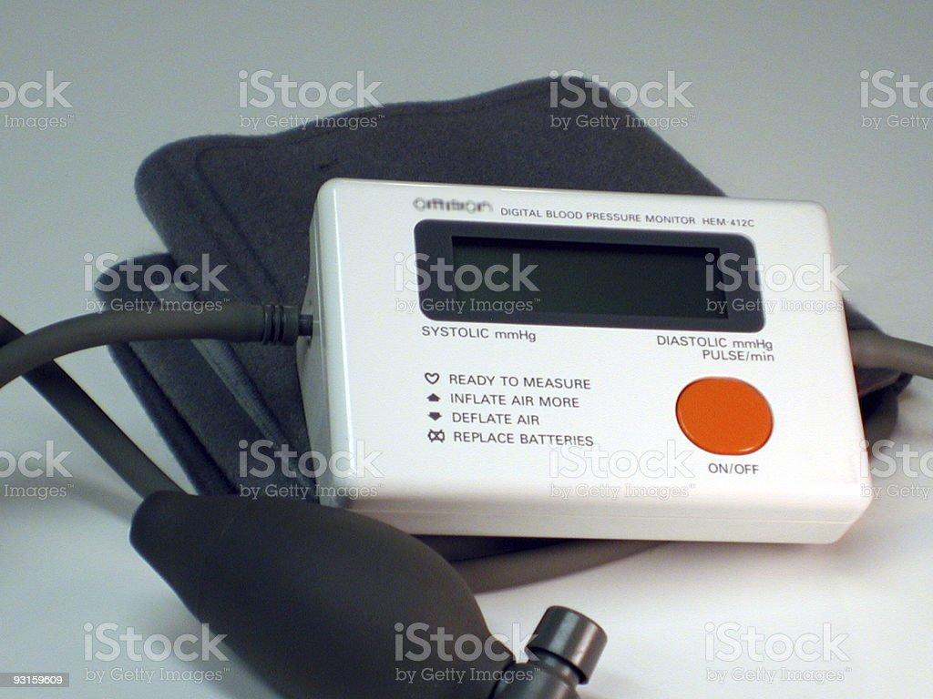 Blood Pressure Monitor stock photo