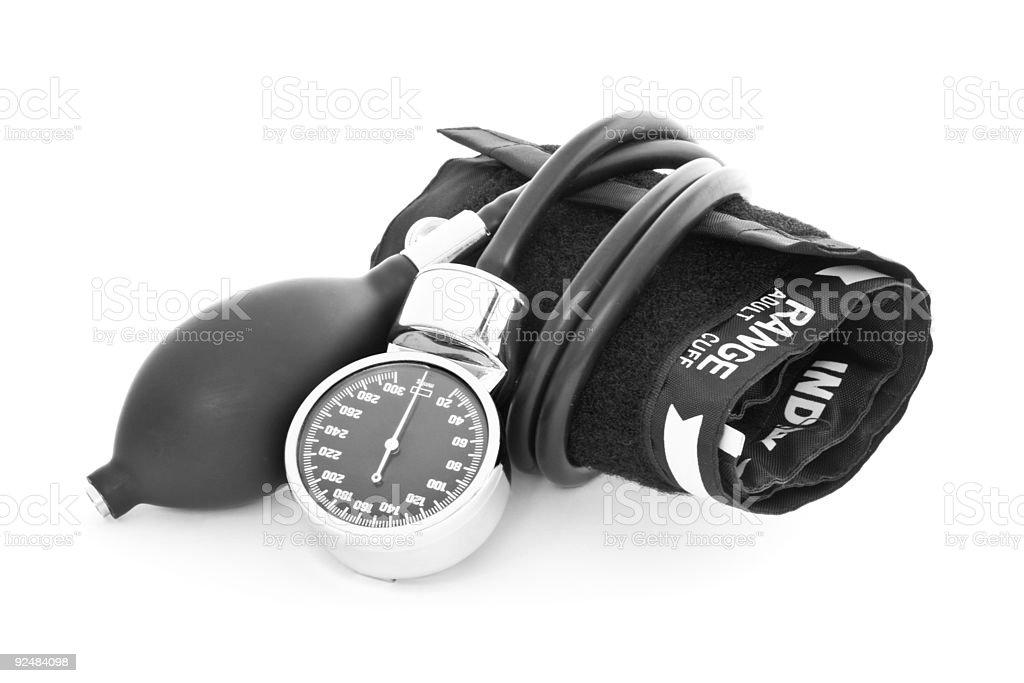 Blutdruck Lizenzfreies stock-foto