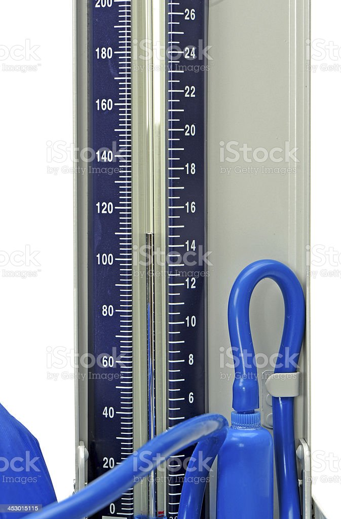 Blood Pressure Sphygmomanometer royalty-free stock photo