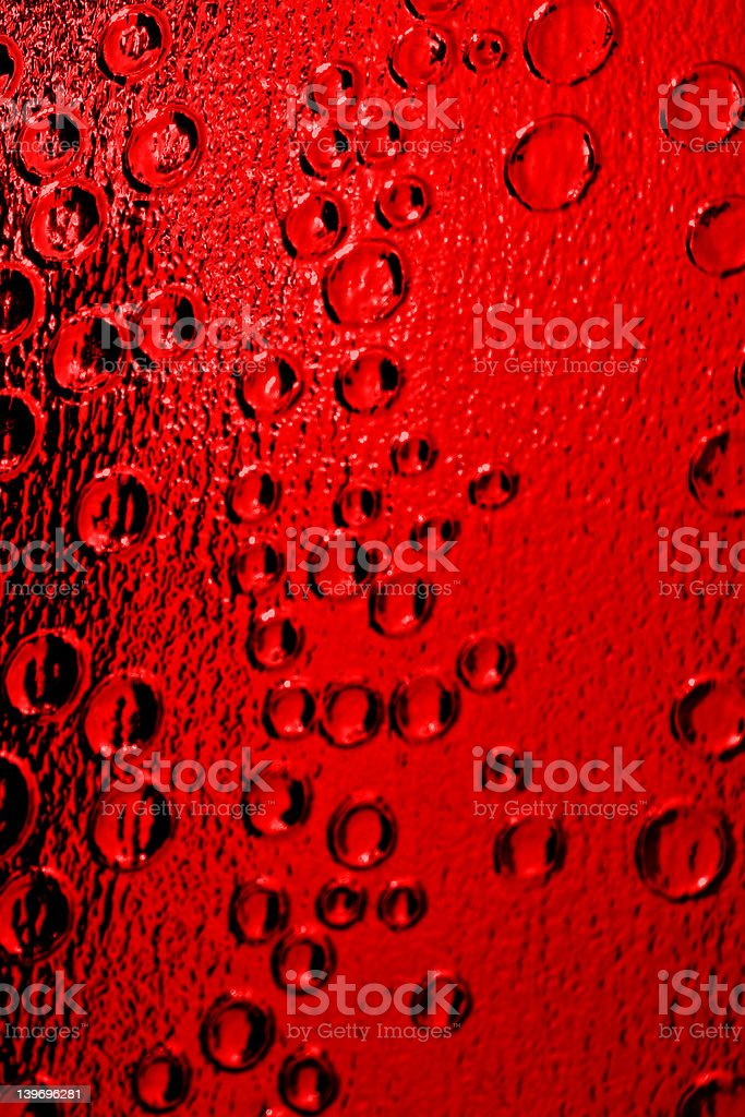 Blood Red royalty-free stock photo