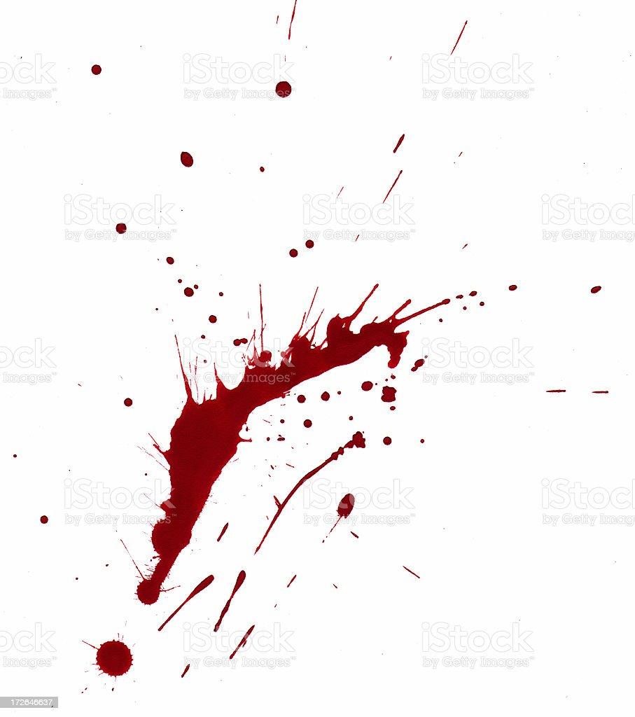 Blood Smear royalty-free stock photo