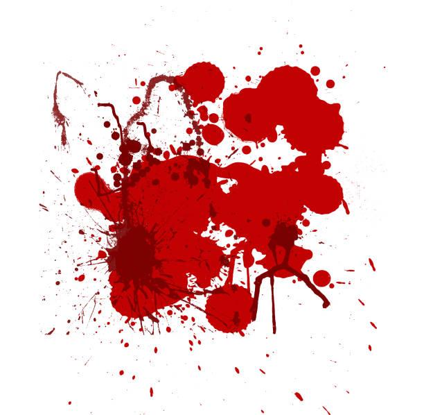 Blutspritzen – Foto