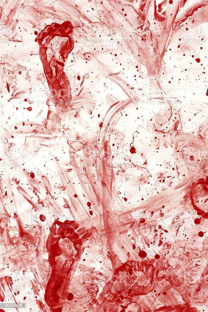 blood splatter mess royalty-free stock photo