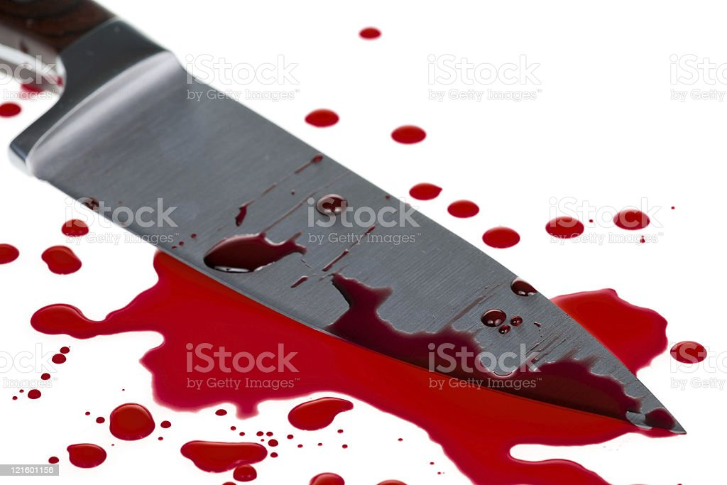 Blood splatter royalty-free stock photo