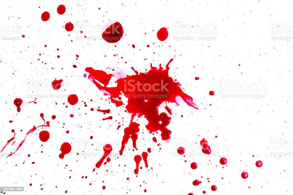 blood splatter foto