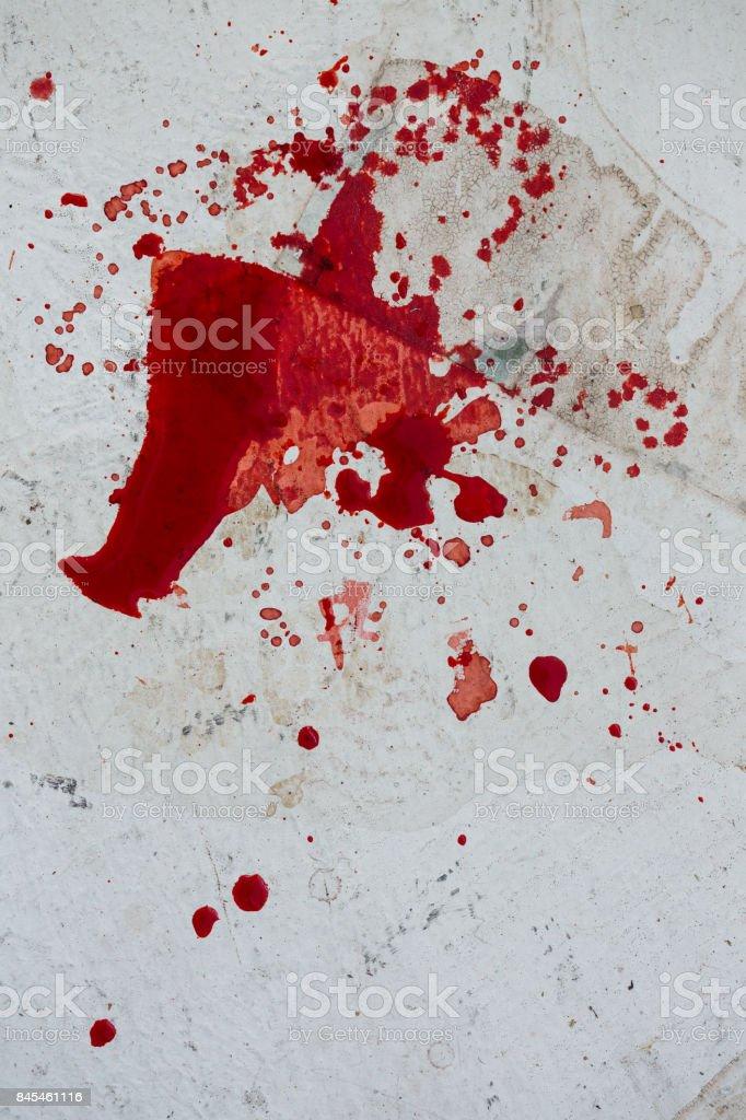 Blood splatter stock photo