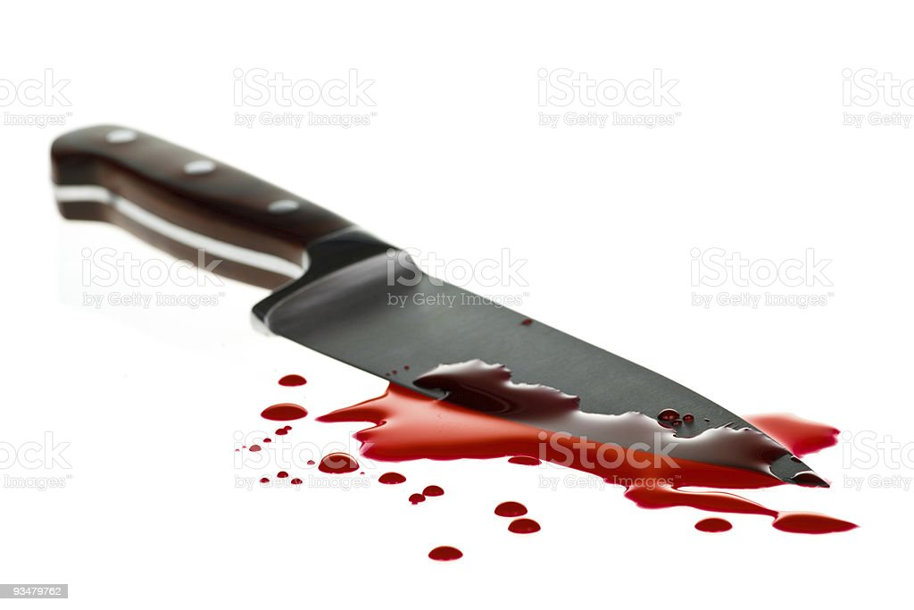 Blood splatter royalty-free stock photo