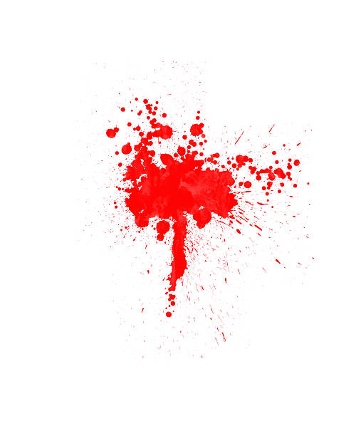 Blood Stains stock photo