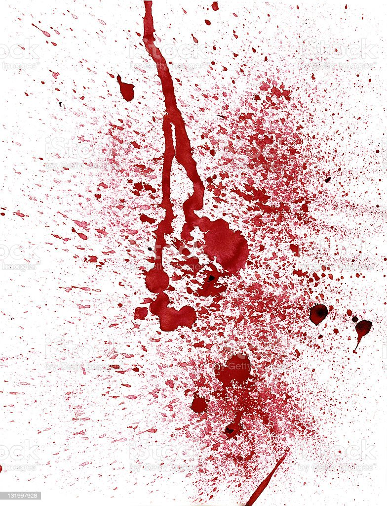 Blood stains (XXL) royalty-free stock photo