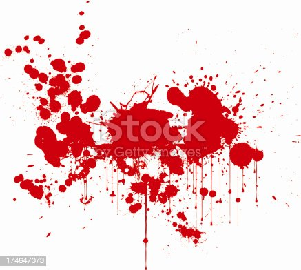 istock Blood Stains 174647073