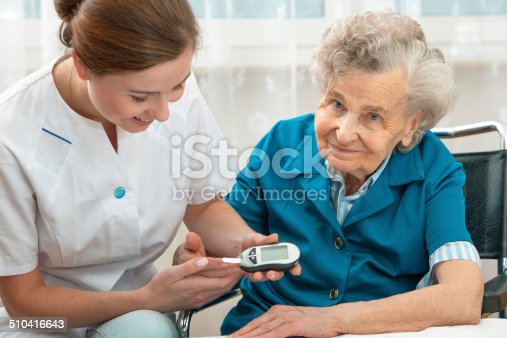 istock Blood sugar test 510416643