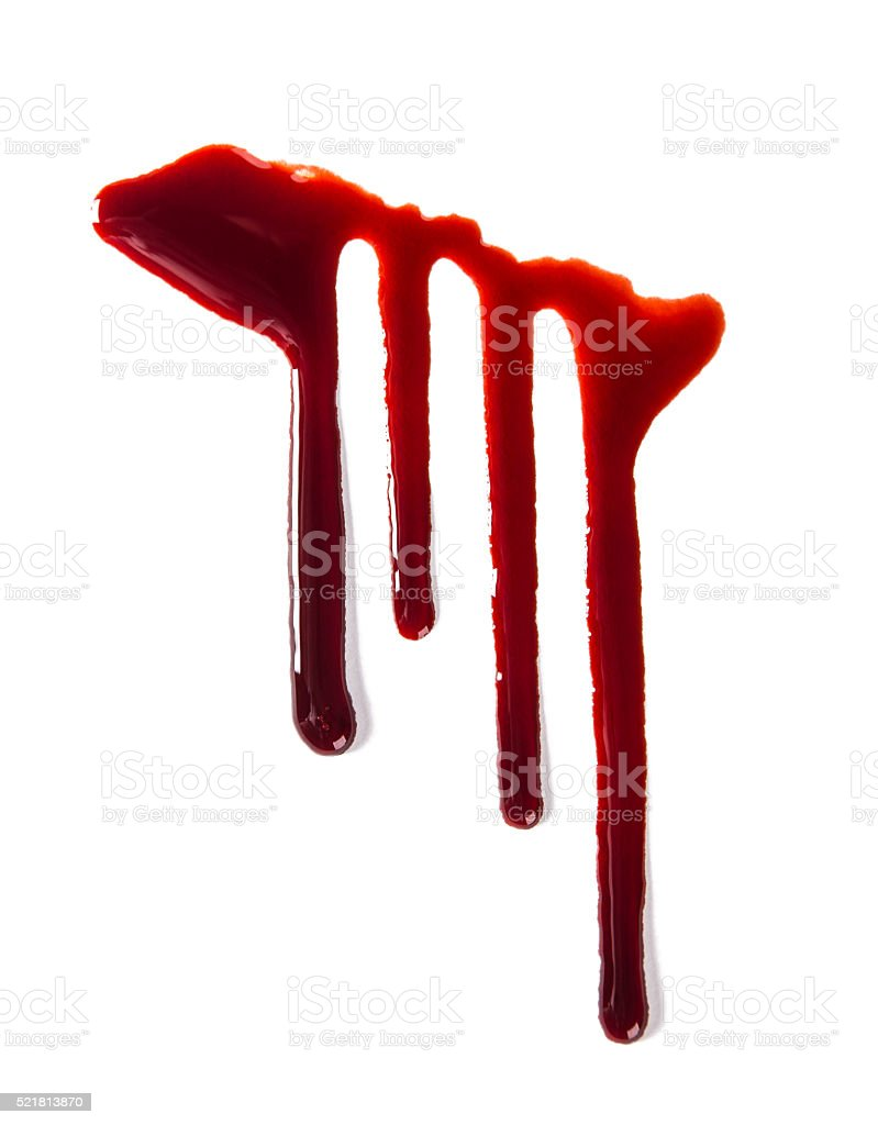Blood texture stock photo