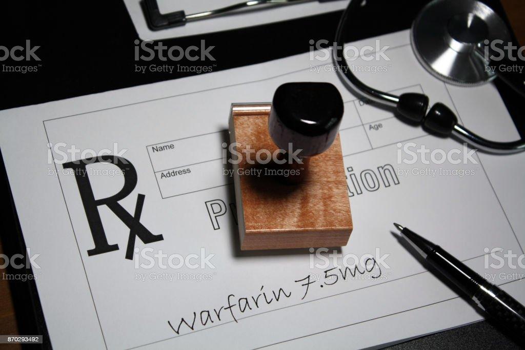 Blood Thinner stock photo