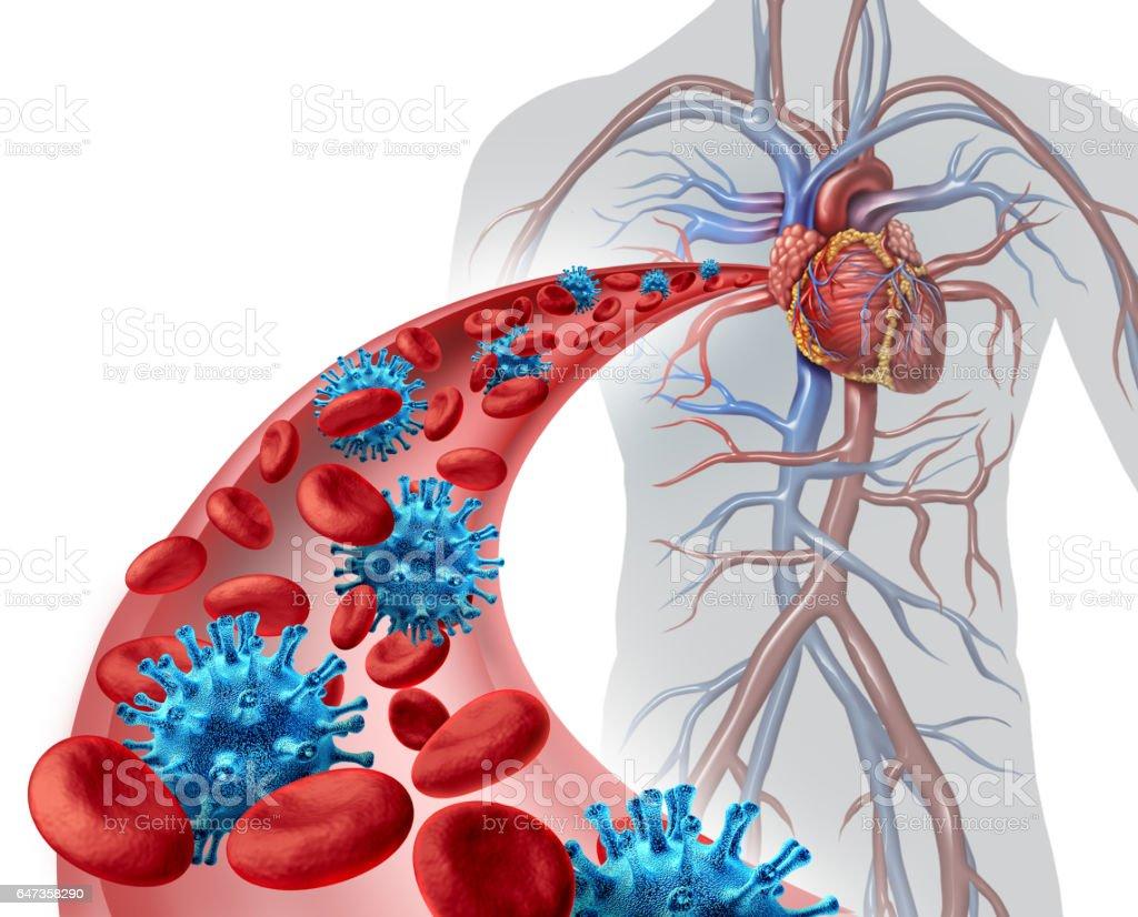 Blood Virus Infection stock photo