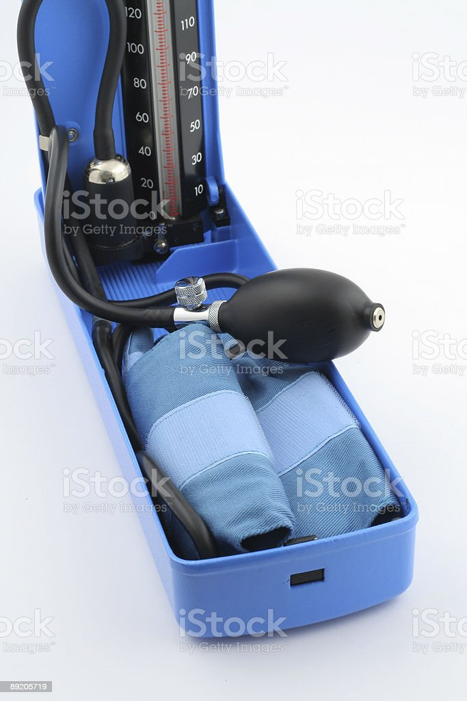 blood-pressure measuring equipment royalty-free stock photo