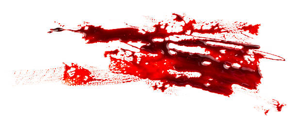 Bloodstain - foto stock