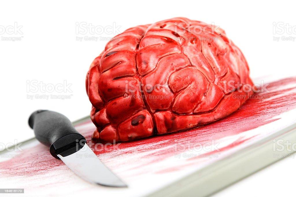 Bloody Brain stock photo