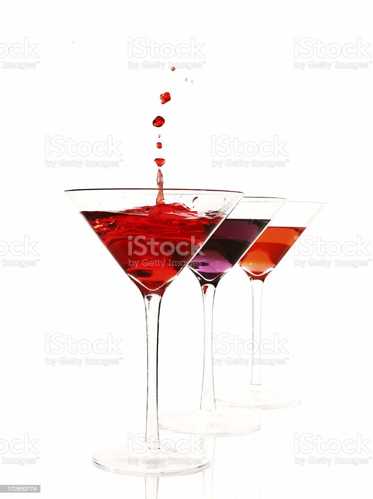 Bloody cocktails royalty-free stock photo