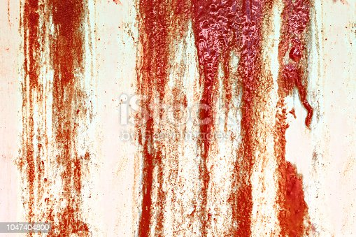 535193210 istock photo Bloody concrete wall for Halloween background 1047404800