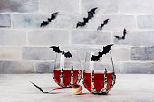 istock Bloody Halloween party cocktail 1277272476