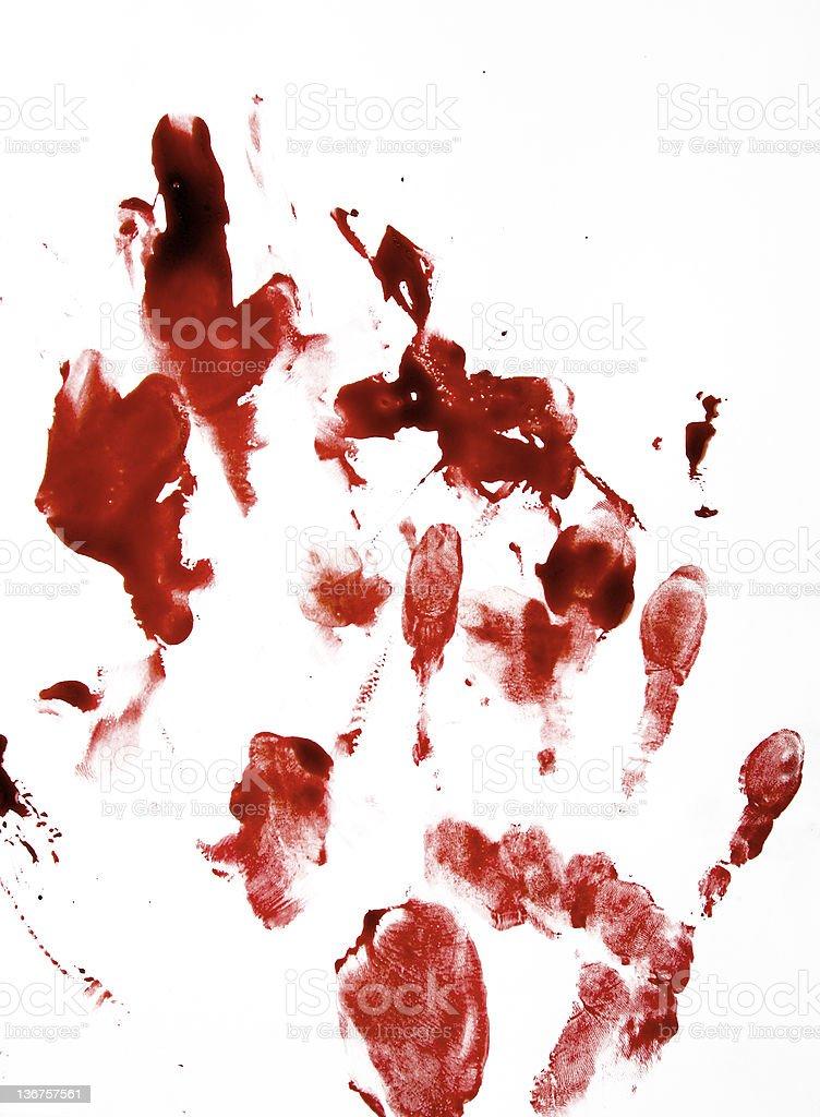 Bloody di stampa - foto stock
