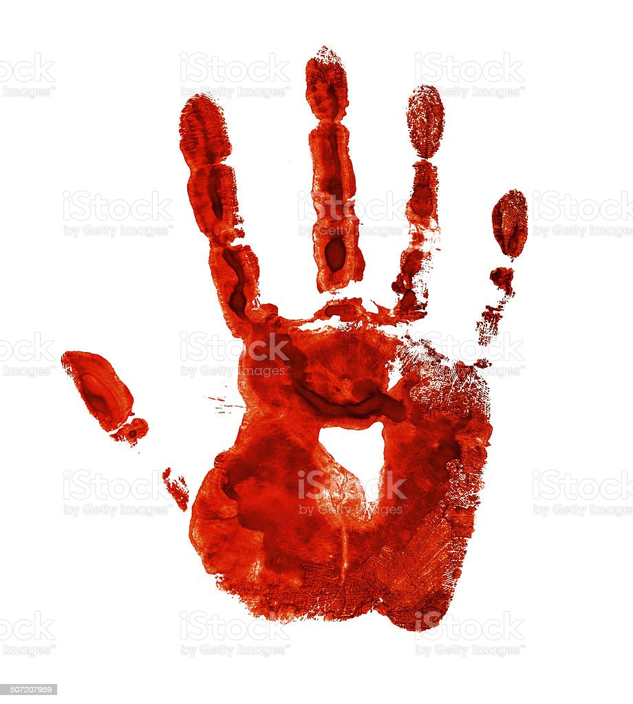 royalty free bloody fingerprint pictures images and stock