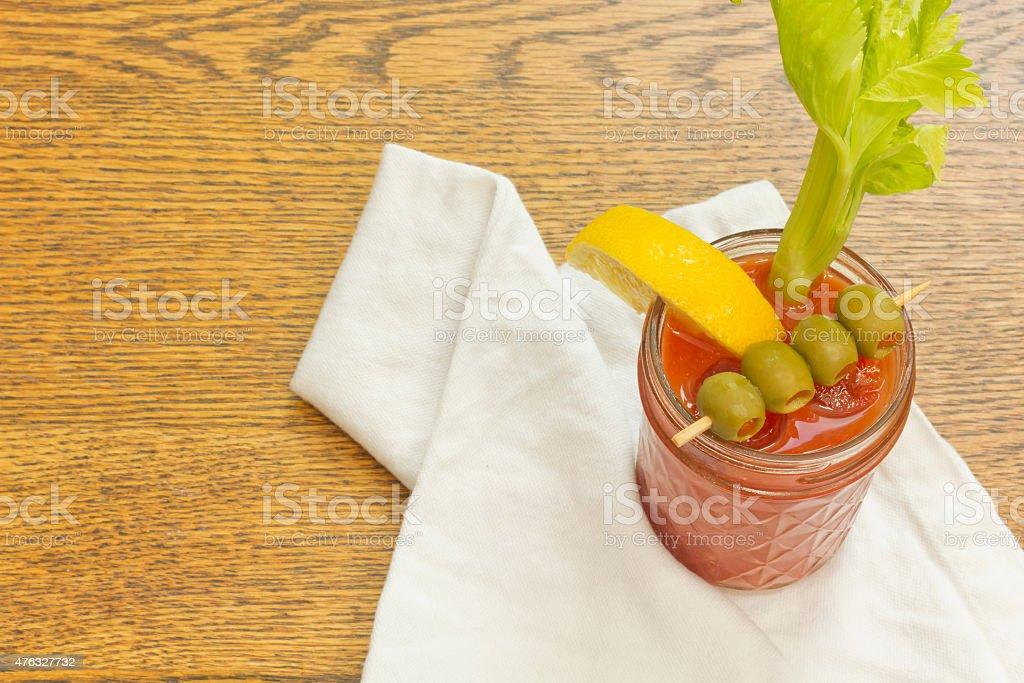 Bloody Mary stock photo
