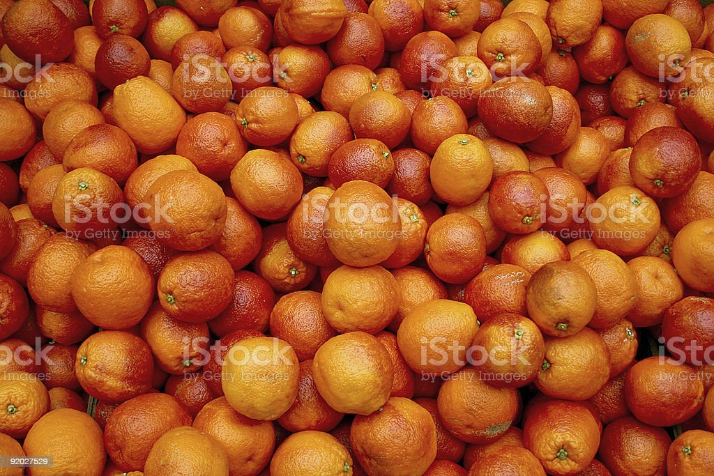 Bloody oranges royalty-free stock photo
