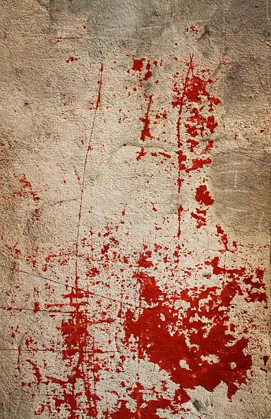Bloody wall I stock photo
