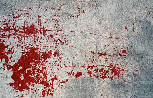 Bloody wall II stock photo