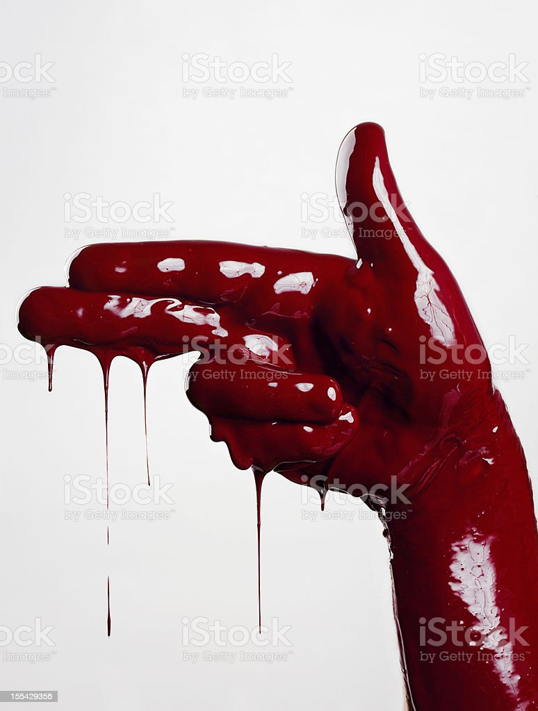Bloody War stock photo