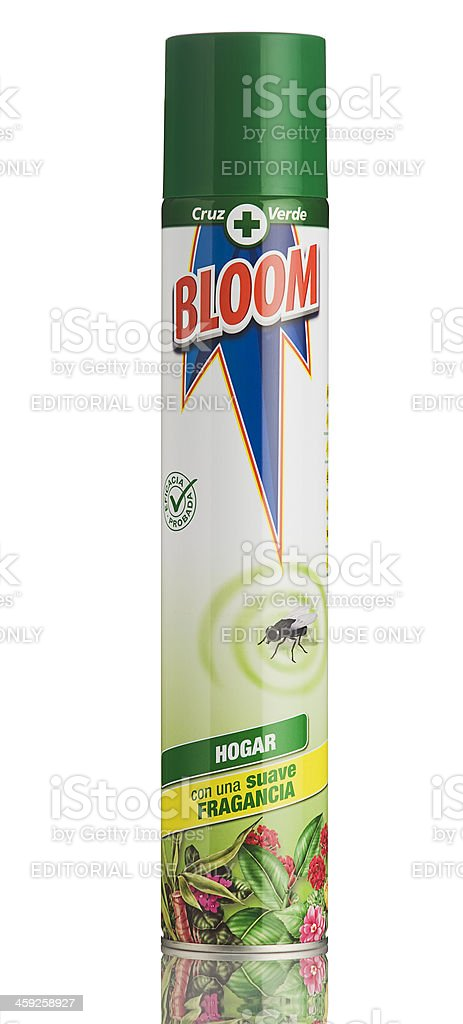 Bloom mosquito insecticide. royalty-free stock photo