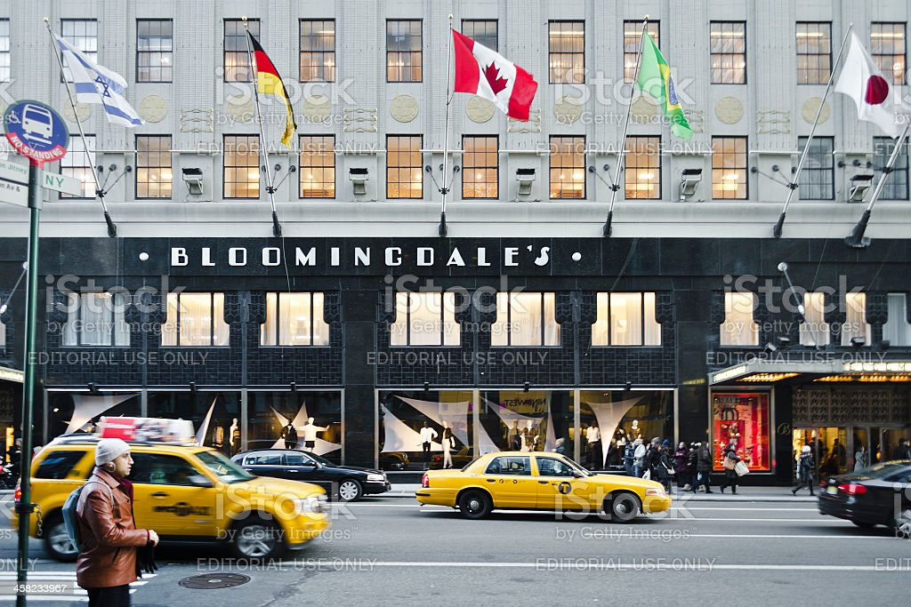 Bloomingdale's Department Store, Upper East Side, Manhattan royalty-free stock photo