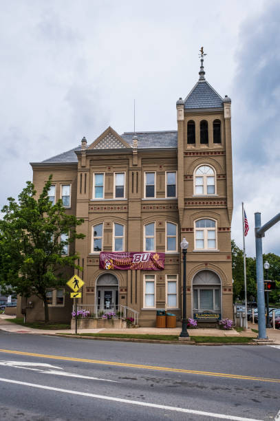 Bloomsburg Town Hall stock photo