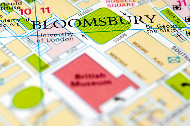 Bloomsbury, London, England stock photo