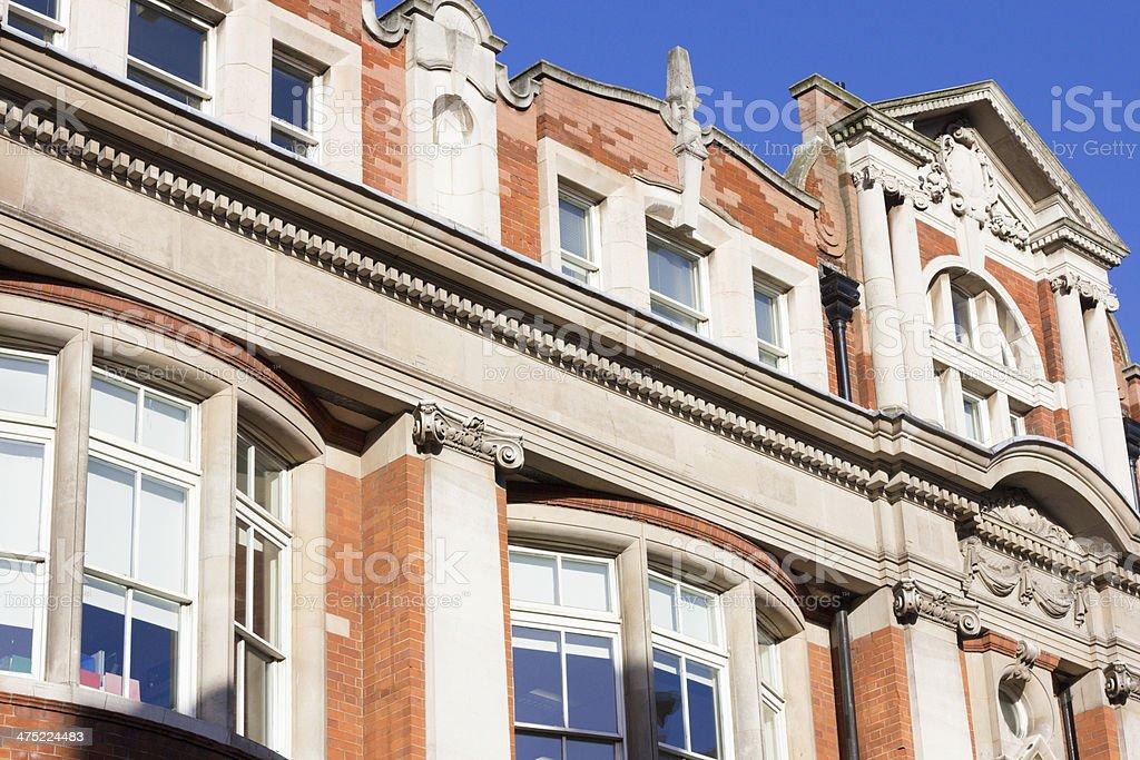 Bloomsbury London royalty-free stock photo