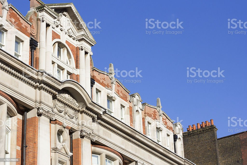 Bloomsbury London royalty-free stock photo