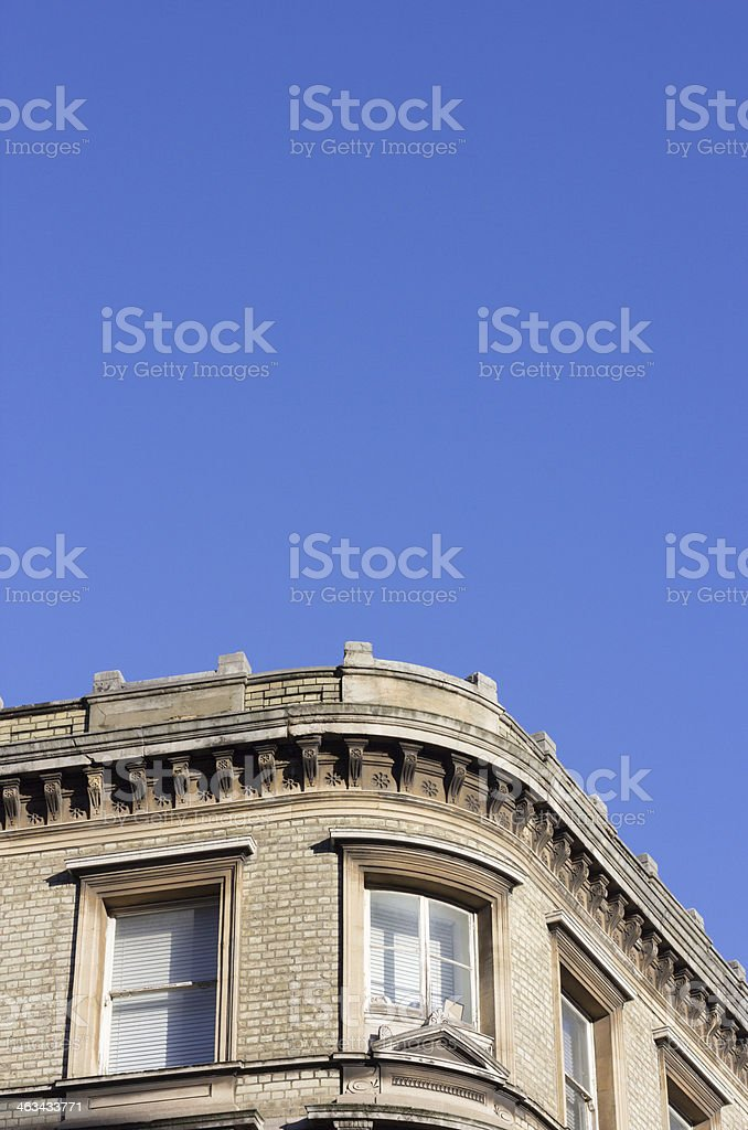 Bloomsbury Street in London, England royalty-free stock photo