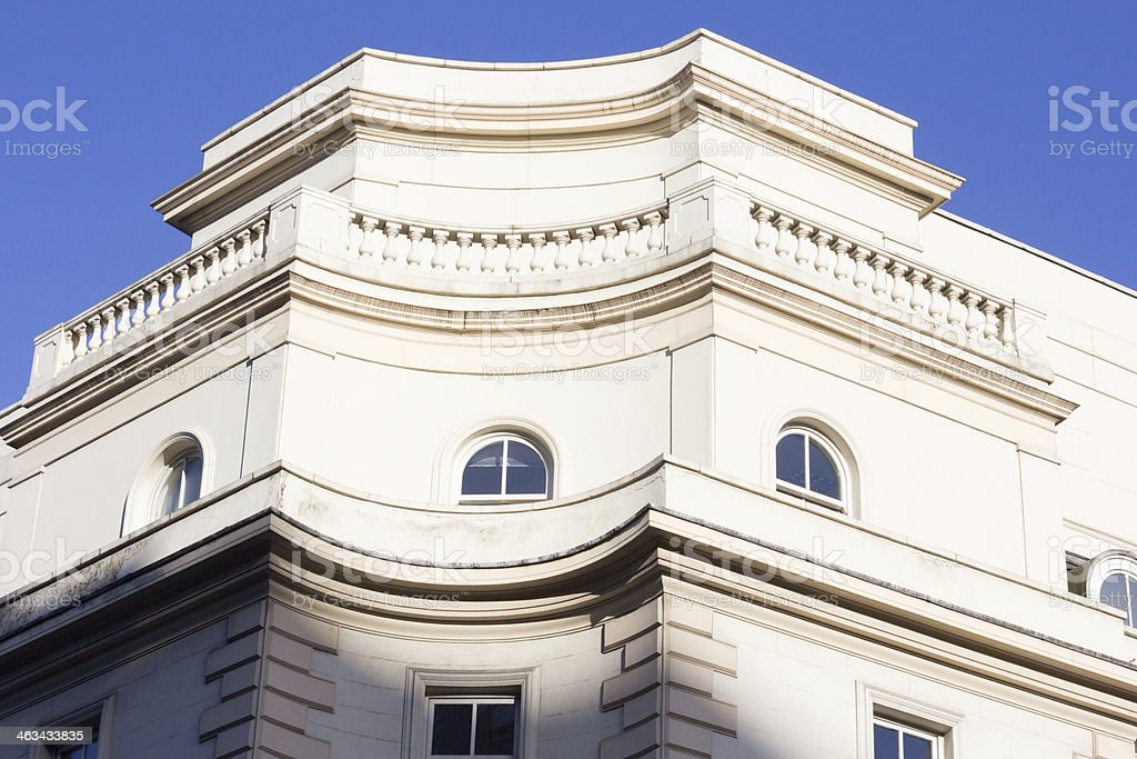 Bloomsbury Street in London, England royalty-free stock photo