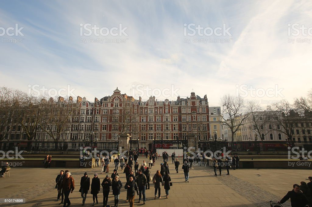 Bloomsbury Street stock photo